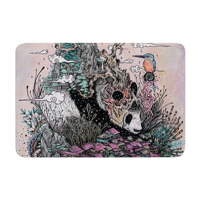 Mat Miller Land of the Sleeping Giant Panda Memory Foam Bath Rug