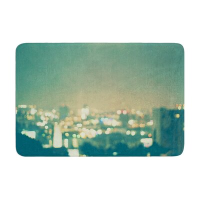 Myan Soffia Anniversary City Lights Memory Foam Bath Rug