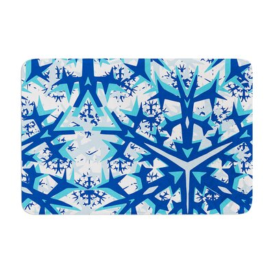 Miranda Mol Winter Mountains Memory Foam Bath Rug