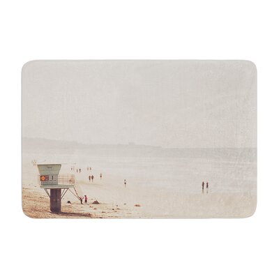 Myan Soffia Beach Day Beach Ocean Memory Foam Bath Rug