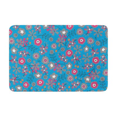Michelle Drew Meadow Paisley Memory Foam Bath Rug