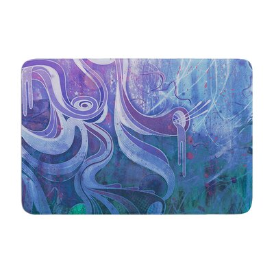 Mat Miller Electric Dreams II Memory Foam Bath Rug