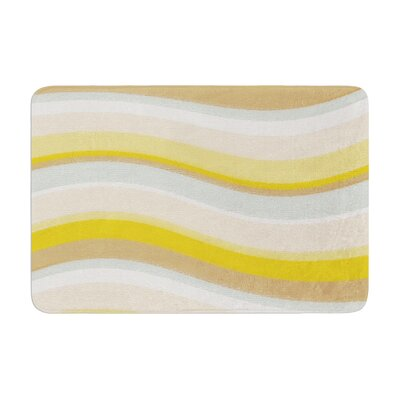 Nika Martinez Desert Waves Memory Foam Bath Rug