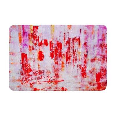 Malia Shields Painted Cityscape Memory Foam Bath Rug