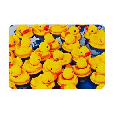 Maynard Logan Duckies Memory Foam Bath Rug