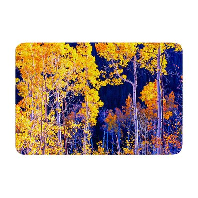 Maynard Logan Trees Memory Foam Bath Rug
