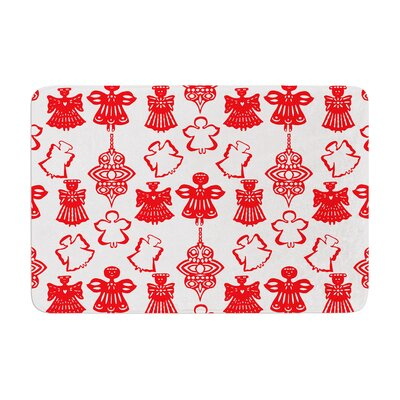 Miranda Mol Angels Singing Holiday Memory Foam Bath Rug