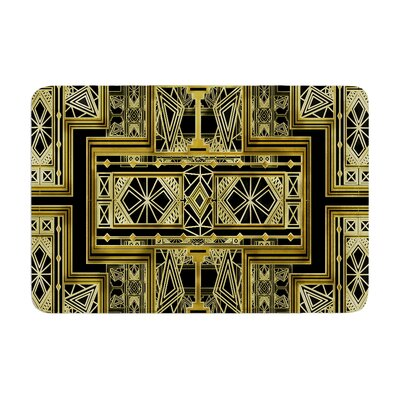 Nika Martinez Art Deco Memory Foam Bath Rug