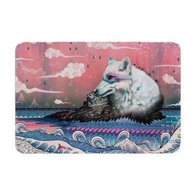 Mat Miller Lone Wolf Memory Foam Bath Rug