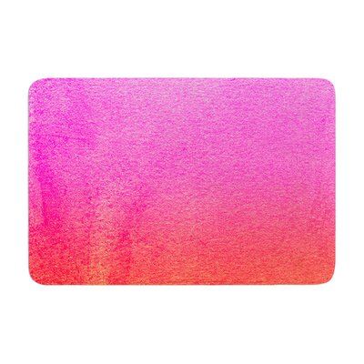 Monika Strigel Fruit Punch Magenta Memory Foam Bath Rug