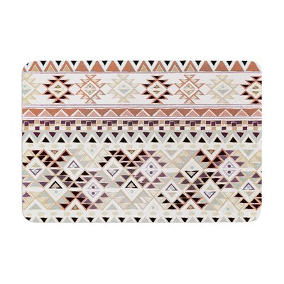 Nika Martinez Tribal Native Memory Foam Bath Rug