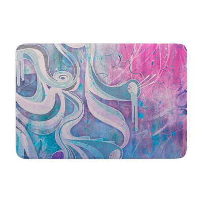 Mat Miller Electric Dreams Memory Foam Bath Rug