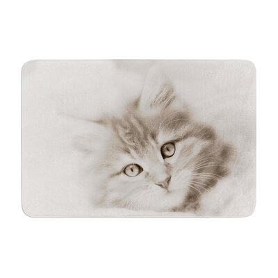 Monika Strigel Main Coon Kitten Cat Memory Foam Bath Rug