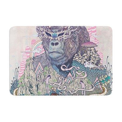 Mat Miller Ceremony Fantasy Gorilla Memory Foam Bath Rug