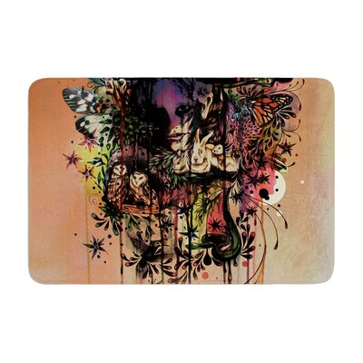 Mat Miller Doom and Bloom Rose Memory Foam Bath Rug