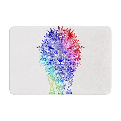 Monika Strigel Lion Memory Foam Bath Rug