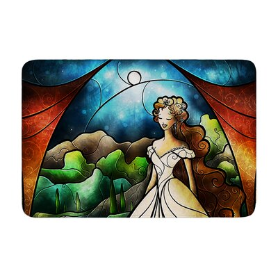 Mandie Manzano Think of Me Princess Memory Foam Bath Rug