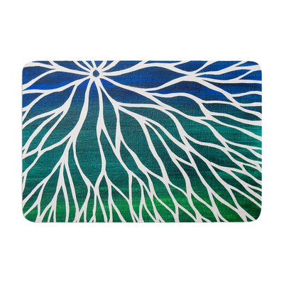 NL Designs Ocean Flower Memory Foam Bath Rug