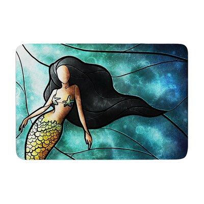 Mandie Manzano Mermaid Memory Foam Bath Rug