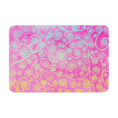Monika Strigel Get Lucky Memory Foam Bath Rug