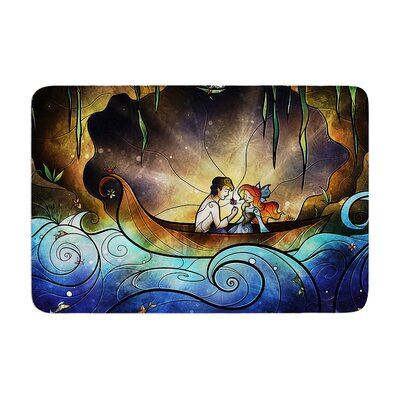 Mandie Manzano Something About Her Mermaid Memory Foam Bath Rug