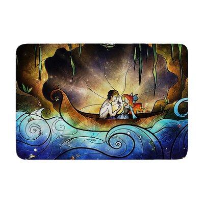Mandie Manzano Something About Her Mermaid Memory Foam Bath Rug