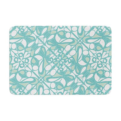 Miranda Mol Swirling Tiles Memory Foam Bath Rug