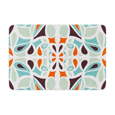 Miranda Mol Stained Glass Memory Foam Bath Rug