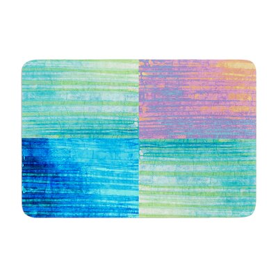 Nina May Crayon Batik Memory Foam Bath Rug