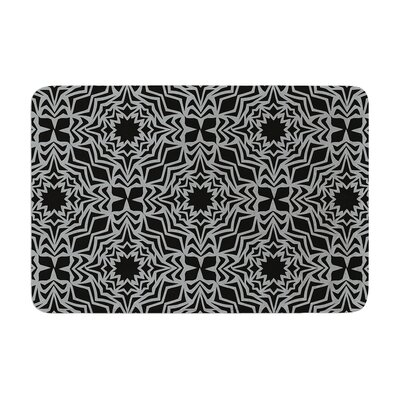 Miranda Mol Optical Fest Memory Foam Bath Rug
