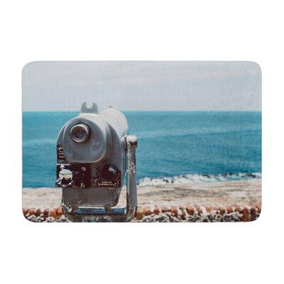 Nastasia Cook Ocean View Coastal Memory Foam Bath Rug