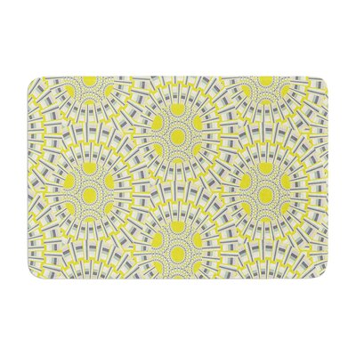 Miranda Mol Sprouting Cells Memory Foam Bath Rug