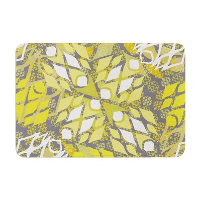 Miranda Mol Sandy Signs Memory Foam Bath Rug