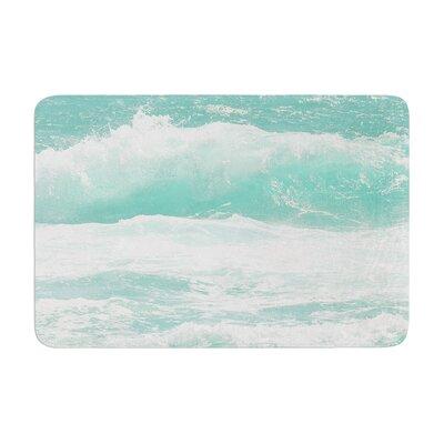 Monika Strigel Maui Waves Memory Foam Bath Rug