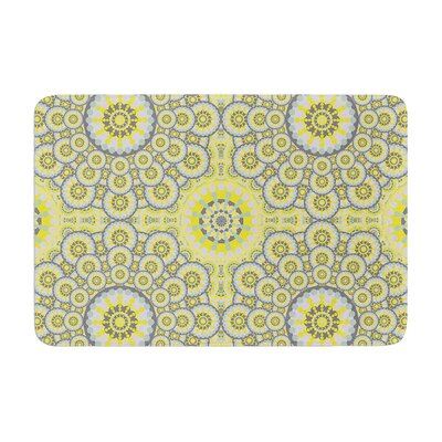 Miranda Mol Multifaceted Flowers Memory Foam Bath Rug