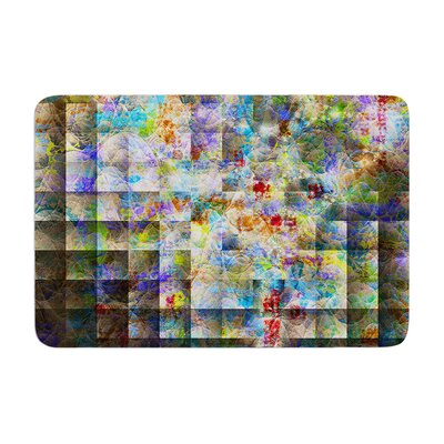 Michael Sussna Yggdrasil Abstract Memory Foam Bath Rug