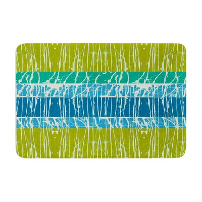 Nina May Ocean Splatter Memory Foam Bath Rug