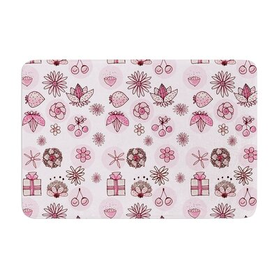 Marianna Tankelevich Cute Stuff Illustration Memory Foam Bath Rug