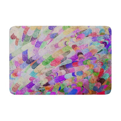 Marianna Tankelevich Abstract Memory Foam Bath Rug
