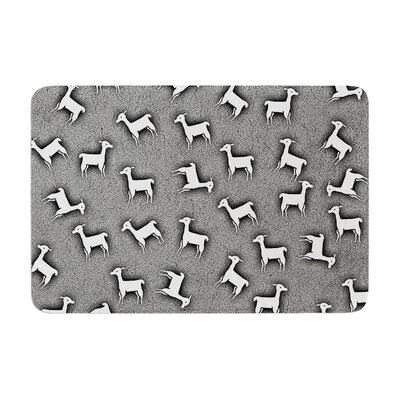 Monika Strigel Llama Multi Memory Foam Bath Rug