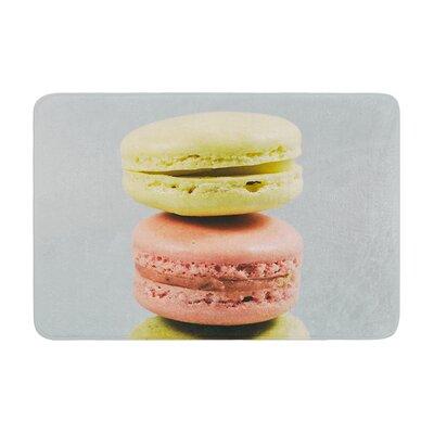 Nastasia Cook Macarons Dessert Memory Foam Bath Rug