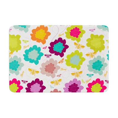 Nicole Ketchum Bee Highway Memory Foam Bath Rug