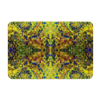 Nikposium Jacket Abstract Memory Foam Bath Rug