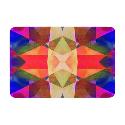 Nina May Irridesco Memory Foam Bath Rug