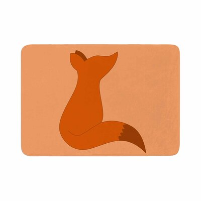 NL Designs Fox Digital Memory Foam Bath Rug