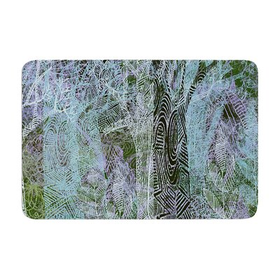 Marianna Tankelevich Wild Forest Trees Memory Foam Bath Rug