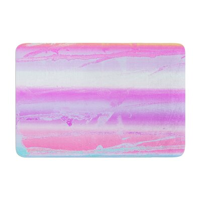 Nina May Drip Dye Warm Memory Foam Bath Rug