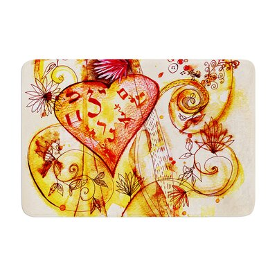 Marianna Tankelevich Tree of Love Memory Foam Bath Rug