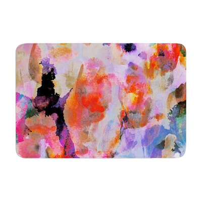 Nikki Strange Painterly Memory Foam Bath Rug