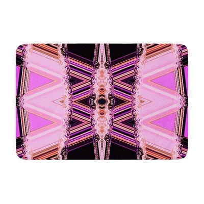 Nina May Decorama Memory Foam Bath Rug Color: Pink